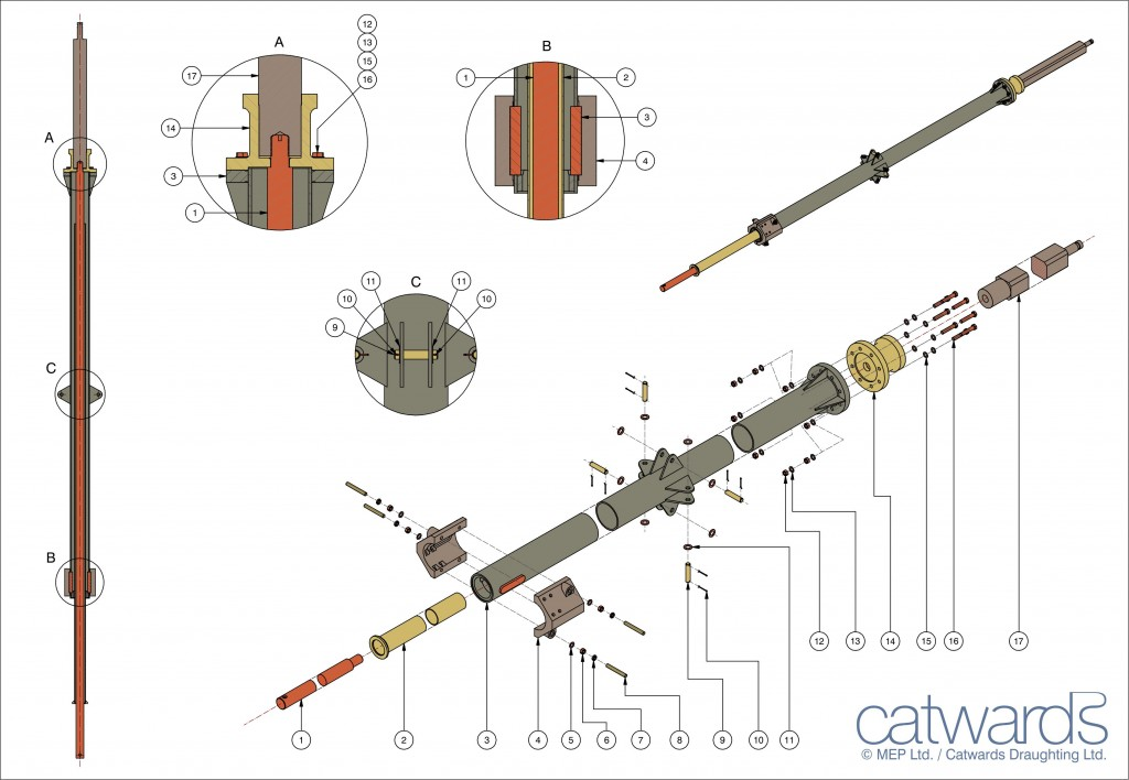 SHAFTS AND TUBES ILLUSTRATION